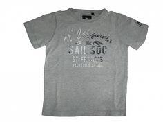 Maat 116 T-shirt Grijs met print voor  Merk Gaastra