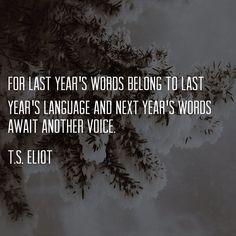 Little Gidding - T.S. Eliot