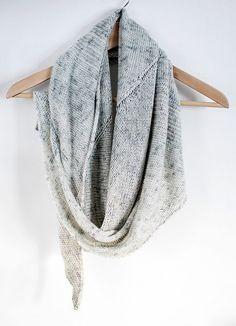 windward shawl | pattern by heidi kirrmaier
