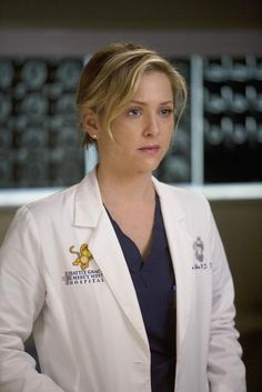 """Arizona Robbins: pediatric surgeon at Seattle Grace Hospital (Grey's Anatomy). Quote: """"I had a poster on my wall of Cindy Crawford, and it wasn't just looking at her mole. It wasn't news to my mom when I brought somebody home named Joanne. """""""