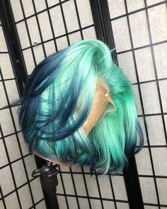 Baddie Hairstyles, Pretty Hairstyles, Curly Hair Styles, Natural Hair Styles, Wig Styles, Pretty Hair Color, Hair Dye Colors, Hair Laid, Lace Hair