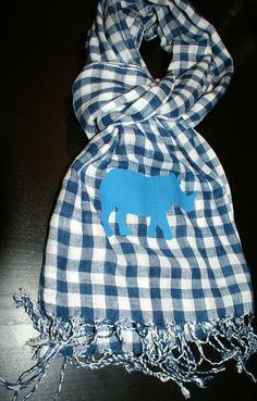 echarpe rhino bleu €19.00