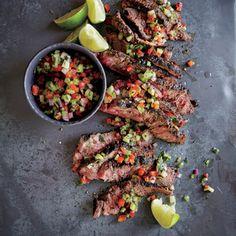 Mojo Flat Iron Steak | MyRecipes.com