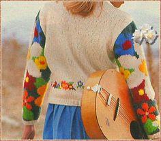 Meine-Wollust: Jacke mit Blumen