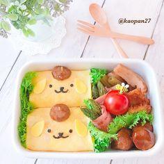 おはようございます(*ˊૢᵕˋૢ*) 今日のお弁当は〜 #ポムポムプリン ちゃん #オムライス お弁当です♡ 俵型ににぎったケチャップライスを薄焼き卵でクルッと巻いてみました🍳 卵が上手く焼けて調子にのってたら、海苔切りを失敗して、お顔が微妙な感じになっちゃいました💧 . さて、今日は可愛い可愛い姪っ子ちゃんの運動会🏅 楽しんできまーす♡ . それでは皆様今日も楽しい一日をお過ごしください・*:..。o♬*゚・*:..。o♬*゚・* . . . #手作り#キャラフード#キャラ弁#おうちごはん#ママリ#サンリオ#lin_stagrammer #instafood #delimia #sanrio #characterfood #kyaraben #kyarafood #kawaiifood #cutefood #foodart #funfood #fooddeco #pompompurin #sanrio #omurice #lunch #bento