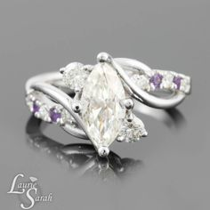 Designs with Marquise Cut Ring | Marquise Cut Forever Brilliant Moissanite Engagement Ring - LS3757