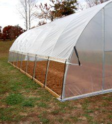 Roll-Up Greenhouse Sides | Growers Solution