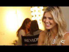 Model Kelly Rohrbach on What She's Learned From Chrissy Teigen. #RuleBreakers #Revlon