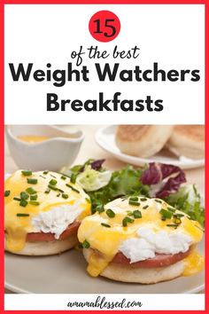 Searching for Weight Watchers breakfast recipes? This post will take you right to the top 15 Weight Watchers breakfast meals. This post includes some meals without eggs, so it fits everyone's needs! Weight Watchers Breakfast, Weight Watchers Meals, Weight Watchers Recipes With Smartpoints, Weight Watchers Sides, Weight Watchers Muffins, Weight Watchers Program, Weight Watcher Smoothies, Weight Watchers Smart Points, Ww Recipes