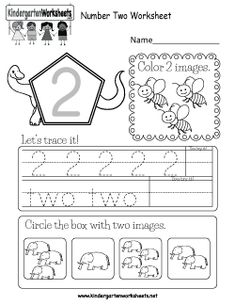 This is a number 2 activity worksheet. Kids can trace the number, color 2 images, and circle the correct number. This is a number 2 activity worksheet. Kids can trace the number, color 2 images… Number Words Worksheets, Number Worksheets Kindergarten, Printable Preschool Worksheets, Worksheets For Kids, Kindergarten Addition, Addition Worksheets, Homeschool Kindergarten, Homeschooling, Numbers For Kids