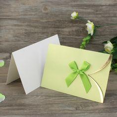 Cheap Pocket Design Mint Green Wedding Invitations with Bowknot Wedding Mint Green, Green Wedding Invitations, Gift Wrapping, Pocket, Paper, Cards, Design, Gift Wrapping Paper, Wrapping Gifts