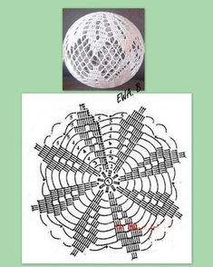 Diy Paper Christmas Tree, Crochet Christmas Ornaments, Christmas Crochet Patterns, Christmas Baubles, Christmas Crafts, Crochet Doily Rug, Crochet Ball, Crochet Stars, Crochet Snowflakes