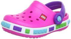 Crocs 12080 CB LEGO Clog (Toddler/Little Kid),Neon Magenta/ Neon Purple,4 M US Toddler crocs,http://www.amazon.com/dp/B008J0YD8I/ref=cm_sw_r_pi_dp_ASVjtb107GEA9M7M