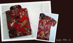KODE F38A | IDR 85.000 | Bahan : katun prima, batik sablon kombinasi | Size M, L, XL | Hotline : 081333303545 | BB Pin 2128117C.