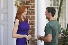 Marcia Cross, Brian Austin Green ~ Desperate Housewives ~ Episode Stills ~ Season 7, Episode 4: The Thing That Counts Is What's Inside #amusementphile