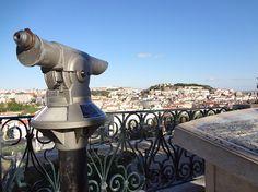 The Belvedere of St.Peter of Alcântara - Lisbon
