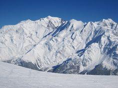 Le Mont-Blanc. Février 2013