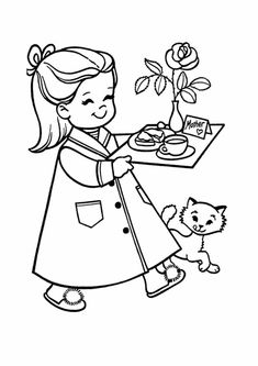 Top 20 Mother's Day Coloring Pages For Toddlers - Happy Mothers Day Quotes 2019 Gifts Mothers Day Coloring Pages, Printable Coloring Pages, Coloring Pages For Kids, Coloring Sheets, Happy Mothers Day Pictures, Happy Mother Day Quotes, I Love You Mother, Mother's Day Colors, Mother's Day Photos