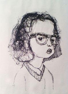 Another Lisa Connolly Illustration.  Stitch Illustration