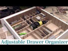 Adjustable Drawer Divider Organizer – Sawdust Girl®