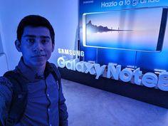 En el lanzamiento del #Note8Peru de @samsungpe #Samsung #SamsungNote8
