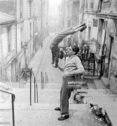 Belleville, Paris, France, Around 1952