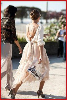 23 rückenfreie Kleider für einen sexy Look  #einen #kleider #ruckenfreie