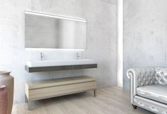 Spiegelschrank Avance New LED Bathtub, Vanity, Bathroom, Note, Innovation, Bathroom Cabinet With Mirror, Toilets, Bathroom Mirror Cabinet, Interior Designing
