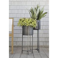 Dundee Floor Planters | Crate and Barrel