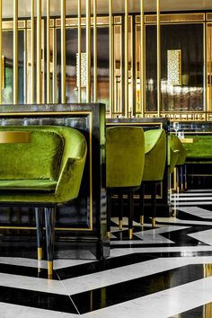 Striking in its elegance and Art Deco drama, the restaurant everyone's...