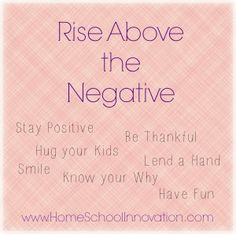 There are many approaches to dealing with negativity and difficult people #homeschool #attitude