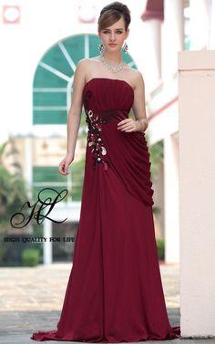 robe de cérémonie, robe de cérémonie, robe de cérémonie http://www.robesoir.fr/par-l-evenement/530-floor-length-strapless-red-chiffon-a-line-barcelona30611.html#
