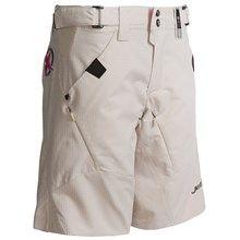 Jett Raven Mountain Bike Shorts (For Women) in Light Khaki - Closeouts