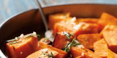 Roasted Sweet Potatoes with Rosemary Honey Vinaigrette | Our State Magazine  Tested, propped and styled by Wendy Perry