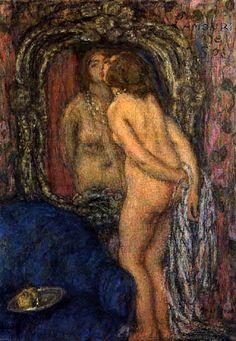 Edmond Aman-Jean - L´amor de soi 1930