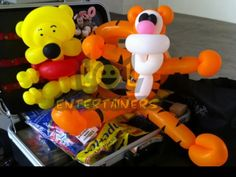 Winnie the Pooh balloon sculpture. the pooh-balloon sculpture the pooh balloon character the pooh-balloon character balloon sculpture sculpture balloon character character Pooh Bear, Tigger, Bear Party, Balloon Animals, Winnie The Pooh, Sculpting, Birthday Parties, Balloons, Art Sculptures