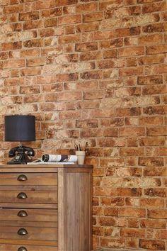 Buy Bricks Wallpaper from the Next UK online shop  £15