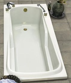 60 Quot X 30 Quot White Cocoon Left Hand Soaker Bathtub With Skirt
