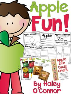 Apple Unit by Teaching With Haley O'Connor | apple unit first grade, apple unit ideas, apple unit 1st grade, apple unit kindergarten, apple day activities, apple day ideas, elementary apple activities, first grade apple activities, first grade apple day