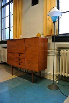 Cees Braakman palissander dressoir voor Pastoe