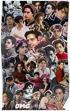Cole Sprouse Collage 2  Poster