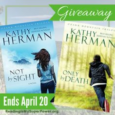 Giveaway at Reading Is My SuperPower: Not by Sight and Only by Death by Kathy Herman #BookGiveaway