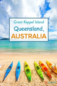 Getaway to Great Keppel Island in Queensland. One for your Australia bucket list!