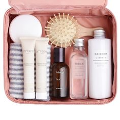 Beauty Kit, Beauty Make Up, Office Bags For Women, Glow Up Tips, Travel Box, Pouch Bag, Travel Essentials, Travel Size Products, Travel Style