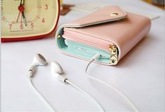 [grdx00172A] PINK Mobile phone bag purse change purse