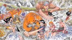 Straw Hat Pirates Fun One Piece Luffy Usopp Nami Zoro Brook Chopper Sanji Franky Robin 1920x1200