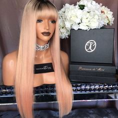 """She a Bad Bitch Introducing My brand new Baby """" The FLORENCĪA unit ➕ A Pastel Pink Blonde unit for the gods ➕ Available to purchase tomorrow from www.freedomcouture.com.au"""