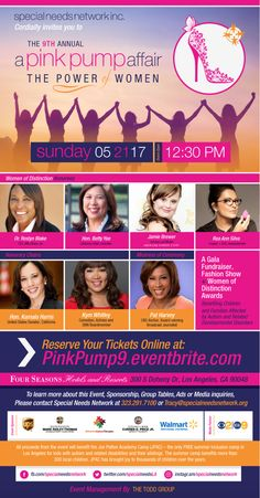 We love doing this event every year because proceeds from Pink Pump's Gala provide free summer camp for hundreds of children with disabilities and their siblings living in Southern California. Our amazing honorees and hundreds of guests gather for a great... #arevamartin #autism #beautyblender @ReaAnn @beautyblender @KeyshiaCole @MsJamieBrewer @Patharveynews @ArevaMartin @SpecialNeedsLA  #autism #PinkPump #Charity #DoGood #SummerCamp