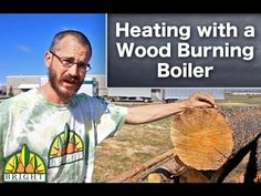 Heating a Greenhouse with Wood - YouTube