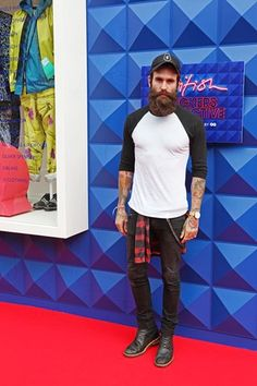 Ricki Hall is one of my all time favorite bearded models.